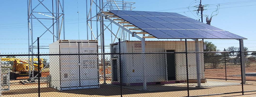 remote solar energy project cps national