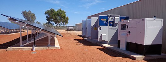 stand alone power system exmouth golf club