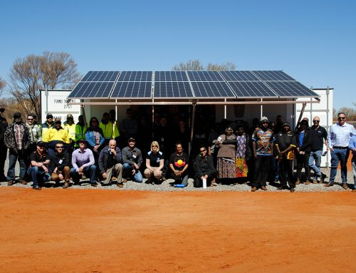 Breakthrough water solution provides sustainable clean drinking water to remote indigenous communities in central Australia