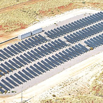 marble bar solar farm nullagine