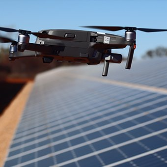 solar analysis rectification drone ir imaging
