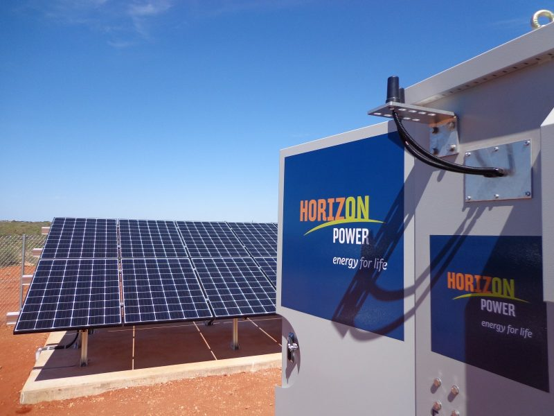 standalone power system horizon power exmouth golf club cps national remote area power