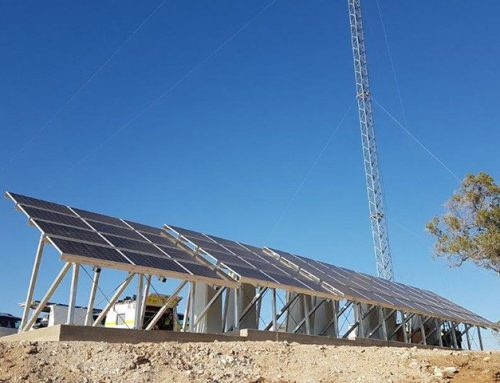 Installation of a Hybrid Solar Power System for Telecommunication Network Tower