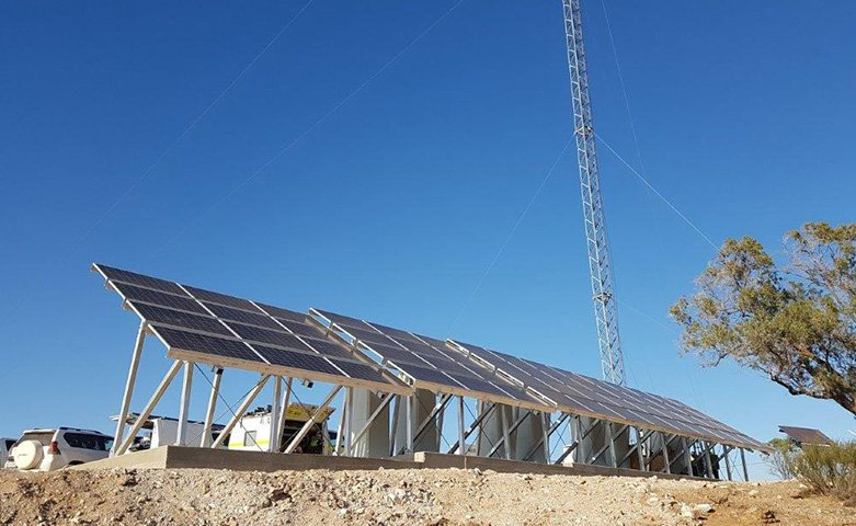 Hybrid solar power system cradock