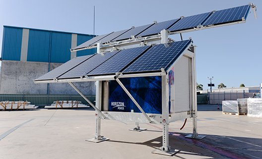 Solar cube stand alone power system