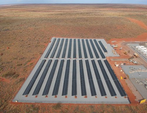 Onslow Microgrid Fully Powered by Renewable Energy