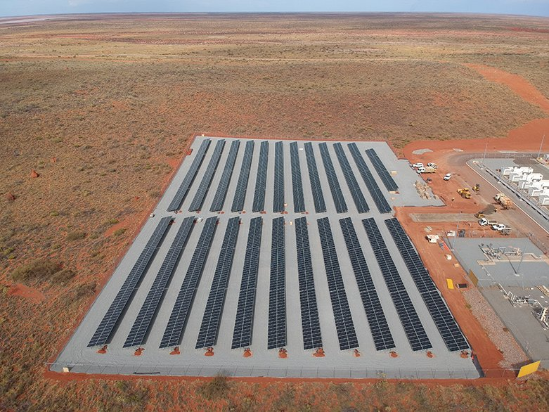 Onslow microgrid project